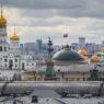 epa09048680 A view of the Kremlin in center Moscow, Russia, 03 March 2021.  EPA/YURI KOCHETKOV